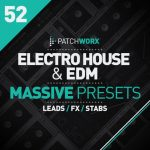 Loopmasters Patchworx 52 Electro House and EDM Massive Presets WAV MiDi