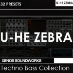 Xenos Soundworks Techno Bass Collection For U-He Zebra2