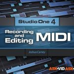 Ask Video Studio One 4 102 Recording and Editing MIDI TUTORiAL-SYNTHiC4TE