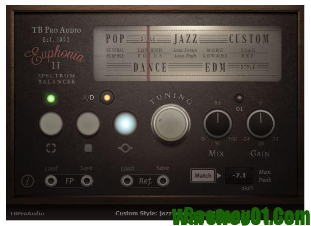 TBProAudio Euphonia 2 v2 0 5 Incl Cracked and Keygen-R2R
