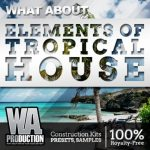 WA Production What About Elements Of Tropical House WAV MiDi Presets FLP TUTORiAL