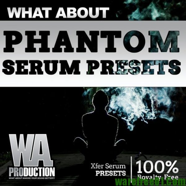 WA Production Phantom Serum Presets FXP-SYNTHiC4TE