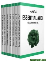 Cymatics Essential MIDI Collection Bundle MiDi